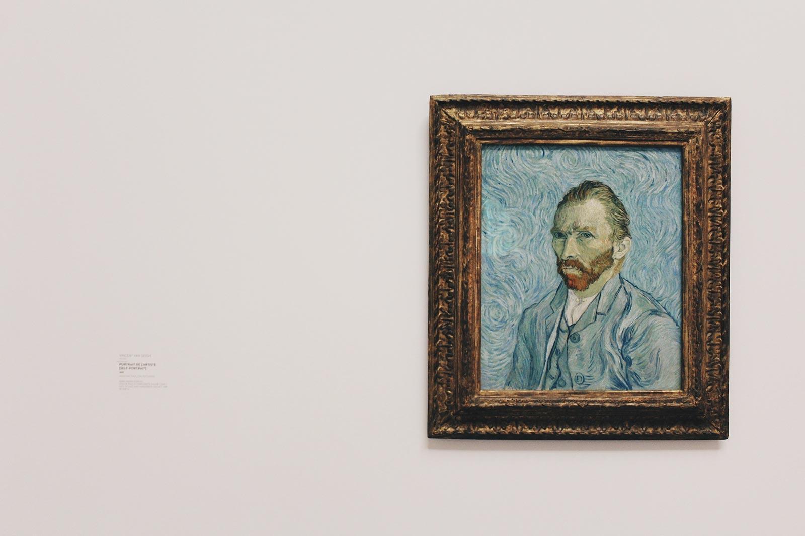 Vincent van Gogh's 'Self Portrait' (1889)