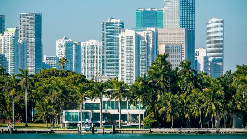 Skyline of Miami, Florida