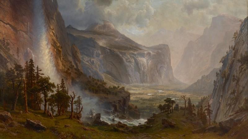Albert Bierstadt's 'Domes of Yosemite'